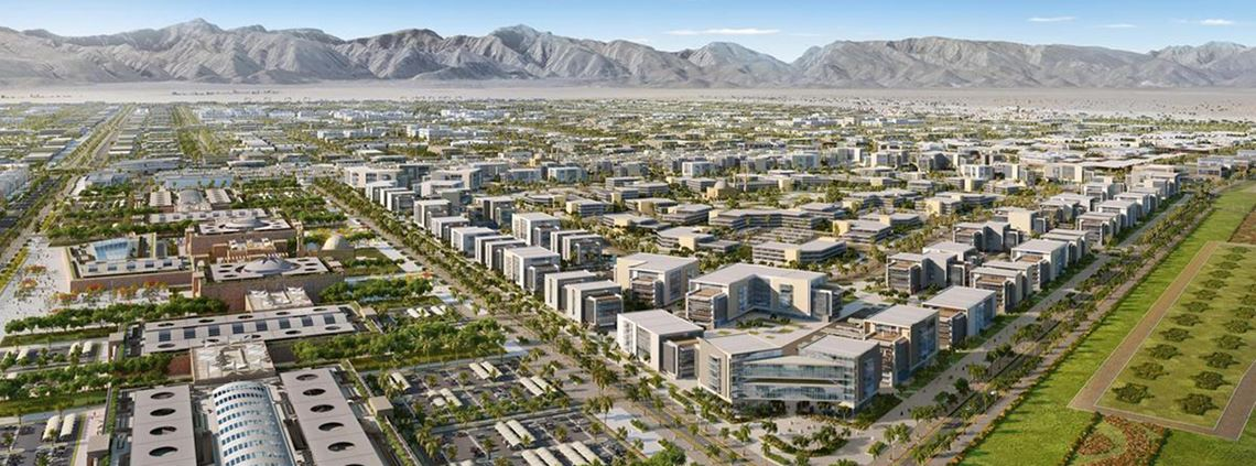 Construction on the city is due to begin in October 2019 © Khazaen Economic City