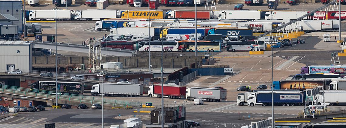 Operation Yellowhammer said disruption at ports could last for up to six months in the event of a no-deal Brexit © Dan Kitwood/Getty Images