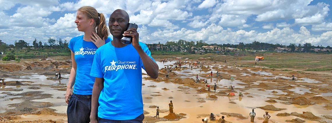 Fairphone now mass balances gold at the refinery rather than at component manufacturers © Fairphone