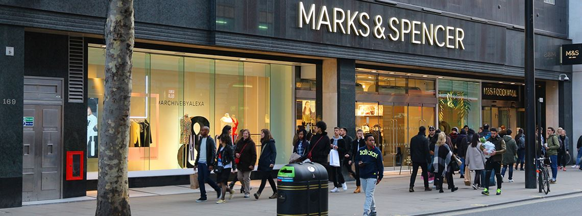 Gordon Mowat's exit from Marks and Spencer comes two months after the resignation of managing director Jill McDonald © Getty Images