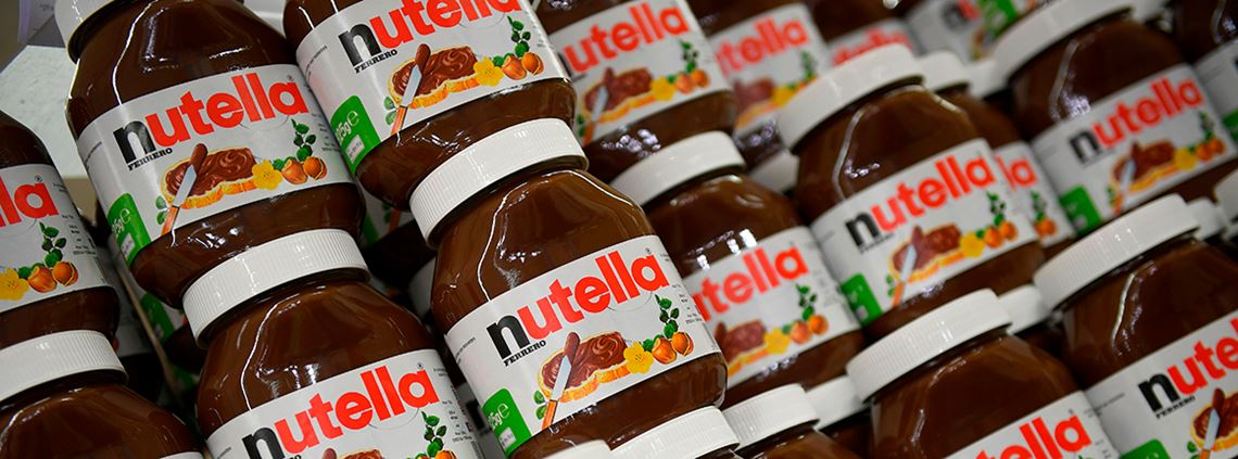 Ferrero, the maker of Nutella, is responsible for buying a third of Turkey's hazelnuts © AFP/Getty Images