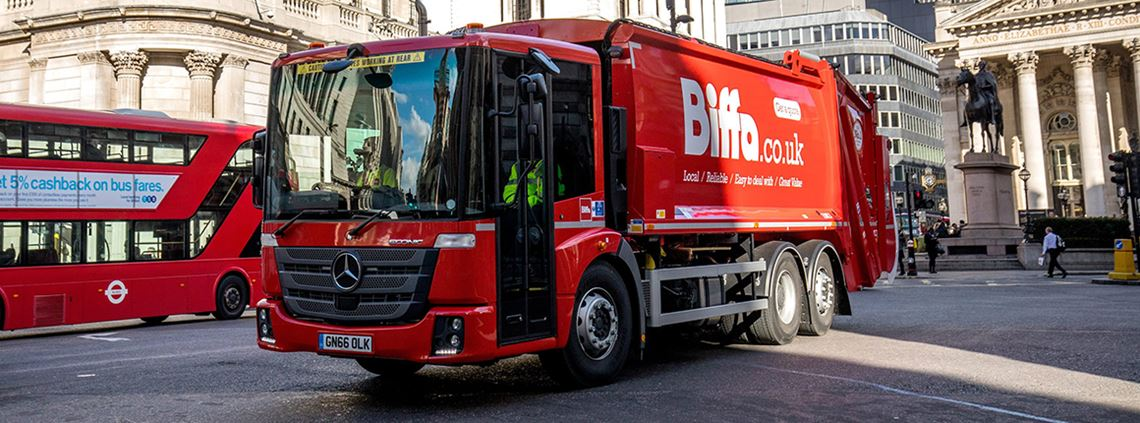 Biffa was found guilty of sending contaminated waste to China in 2015 © Biffa