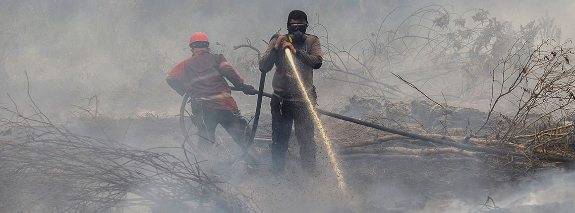 200,000kg of salt have been scattered in clouds in Indonesia © AFP/Getty Images