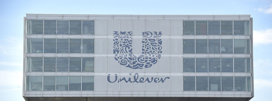 Unilever is on track to achieve its sustainability goals. @ JOHN THYS / Stringer