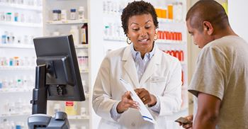 Prescriptions will be sent electronically from the GP to the pharmacy. © Blend Images/Getty Images