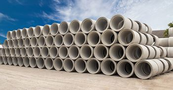 Drainage pipes were one of the concrete products that were being price fixed by the cartel. © Getty Images/iStockphoto