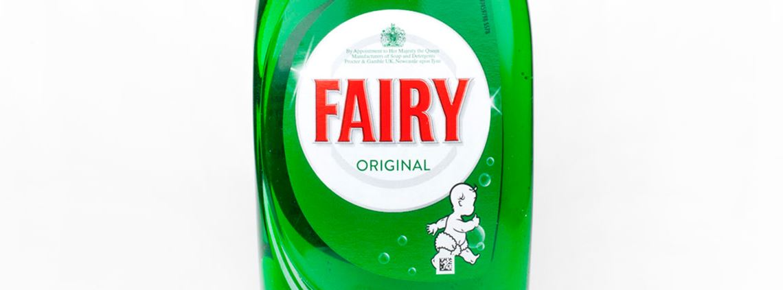 Fairy liquid bottles will be made from 100% recycled or partially-recycled material. © Chris Dorney/123RF