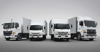 Hino are in talks with Traton to collaborate on additional areas. © Hino Motors