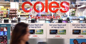 Retailer Coles will work with industry stakeholders to bring change for workers. ©  AFP/Getty Images