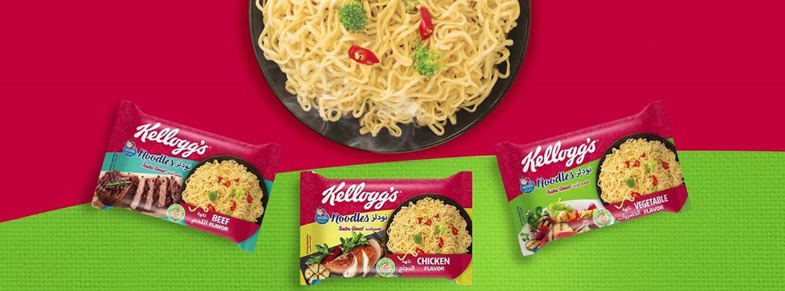 The Kellogg's noodle factory will create 1,000 direct and indirect jobs © @KelloggsNoodlesEgypt