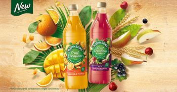 The Robinsons Fruit Creations squash range was developed to rescue the category. © Britvic PLC