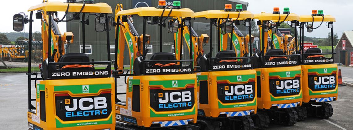 JCB wants to give buyers the tools to 'put their arms around' £400m of spend © JCB