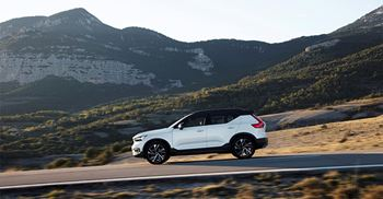 This follows Volvo Cars first launch of a fully electric car, the XC40 Recharge. © Volvo Car Corporation