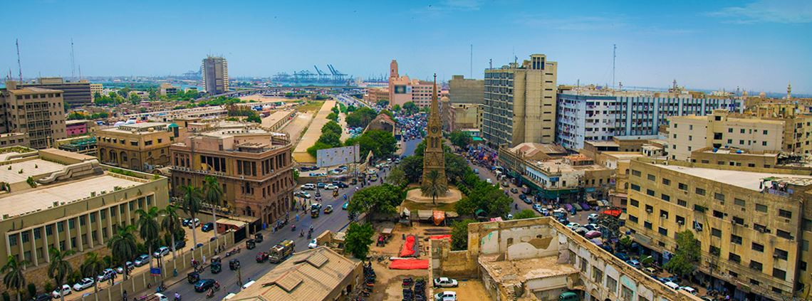 The city of Karachi has a population of over 20m. © SM Rafiq/Getty Images