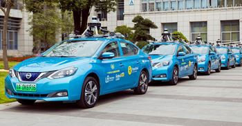 RoboTaxis will be scaling up to cover other cities around China. © WeRide.ai