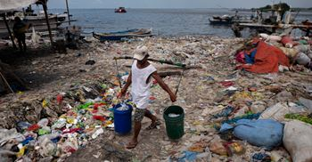 Countries producing the most ocean pollution are China, Indonesia, the Philippines, Thailand and Vietnam. © Jes Aznar/Getty Images