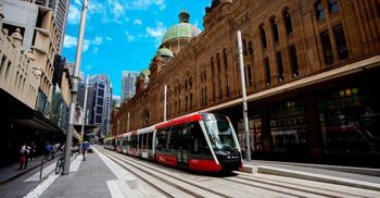 New light rail line runs between Circular Quay and Randwick. © Transport for NSW
