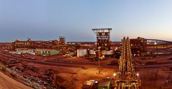 A Fortescue Ore-processing-Facility in Chichester. © Fortescue Metals Group Ltd