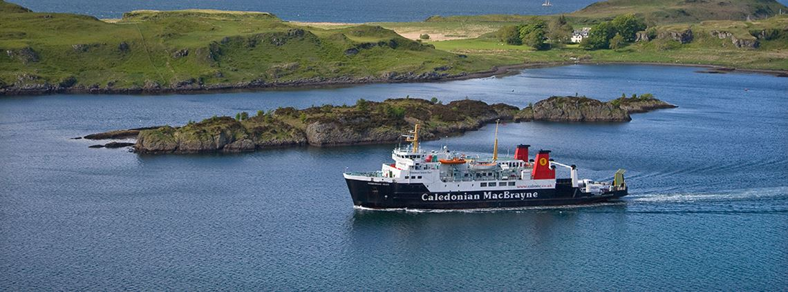 The new hybrid ferries will replace ones currently operating on the Clyde and Hebrides routes © Education Images/Universal Images Group/Getty Images