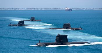 The submarines will replace six Collins class submarines in the Royal Australian Navy © Commonwealth of Australia