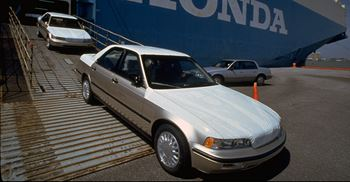 Honda Legend 1998 model were part of recalls due to faulty airbag © Marty Katz/The LIFE Images Collection/Getty Images