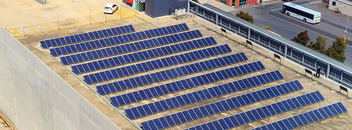 Solar panels will be on the top of existing or new car parks of hospitals © Getty Images