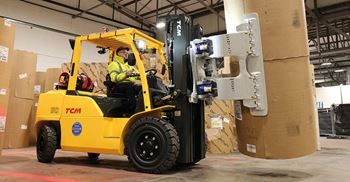 Rationalising materials handling equipment and adding bespoke items saved £50,000 a year
