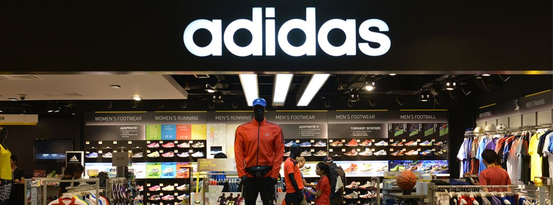 Adidas tops the ranking in 2020 having placed sixth three years ago © Schöning/ullstein bild/Getty Images