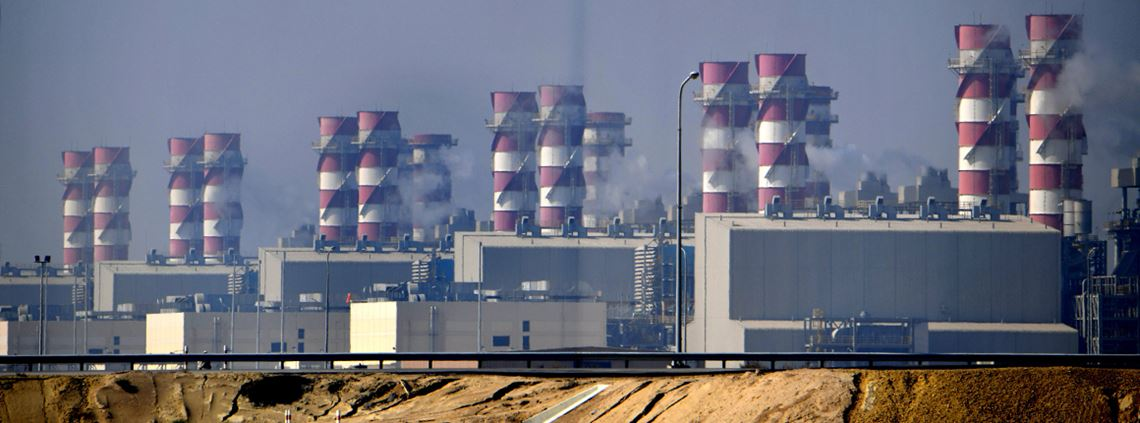 Desalination plants account for up to a quarter of energy consumption in Gulf countries © AFP/Getty Images