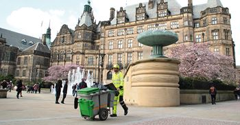 Since council cleaning contractors have been paying the Real Living Wage, staff sickness and turnover have reduced ©Deborah Vernon/Alamy Stock Photo