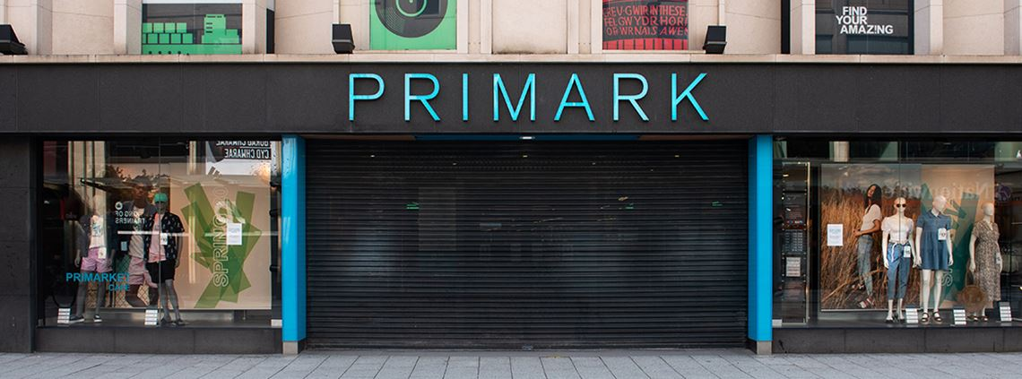 Primark stores have been closed since 22 March as the UK government ordered non-essential shops to close © Polly Thomas/Getty Images