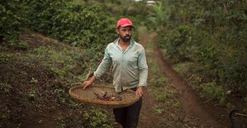 Coffee illustrates how complex supply chains have become ©MAURO PIMENTEL/AFP/Getty Images