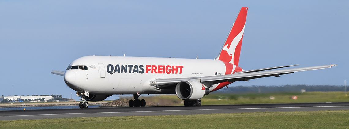 Quantas Freight suspended temporarily due to Covid-19 © James D. Morgan via Getty Images