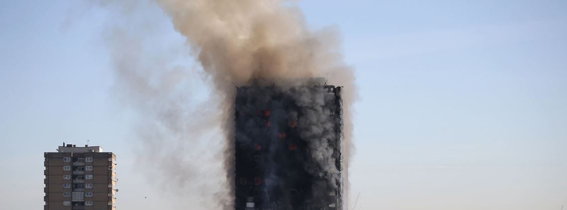 The inquiry is looking into the procurement of combustible cladding as part of the Grenfell Tower refurbishment project © AFP/Getty Images