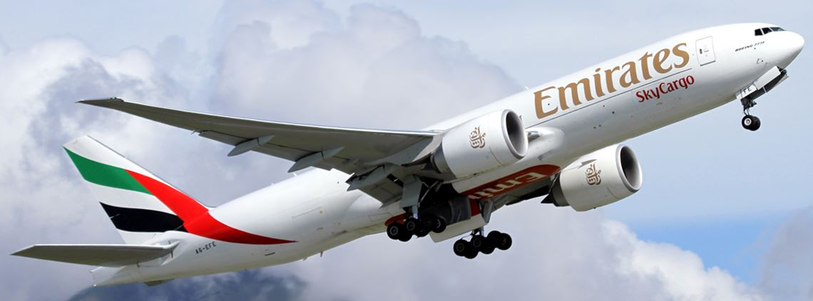 Emirates SkyCargo estimated its facility would be able to hold up to 10m vials of a Covid vaccine © Getty Images