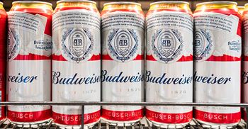 Budweiser now uses 300 UK farmers to supply 100% of its barley © Alex Tai/SOPA Images/LightRocket via Getty Images