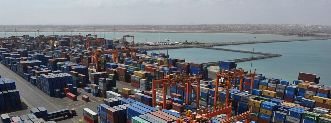 The port of Djibouti has benefited from massive investment © Simon Maina/AFP via Getty Images