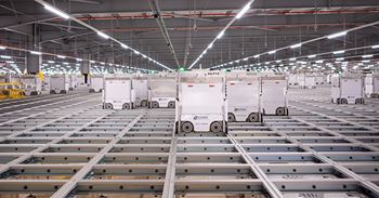 Ocado's Erith fulfilment centre is one of the company's growing number of automated warehouses
