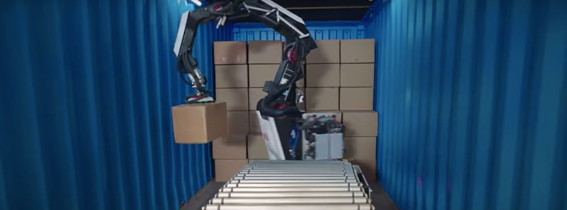 """Stretch"" can move 800 boxes per hour © Boston Dynamics"