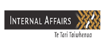 The Department of Internal Affairs logo