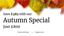 Save £385 with our exclusive Autumn Special!