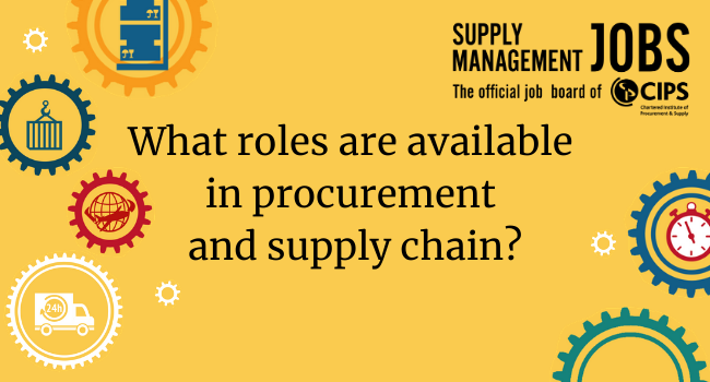 Procurement and supply chain roles